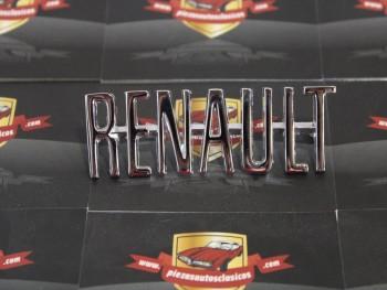 Anagrama Renault para Alpine y otros 87 x 28 mm