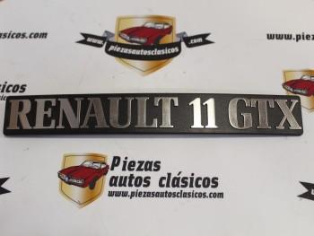 Anagrama Renault 11 GTX