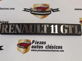 Anagrama Renault 11 GTL