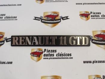 Anagrama Renault 11 GTD