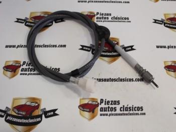 Cable Cuentakilómetros Renault 12 TL y TS ( enganche a clip) Ref: 7702046776