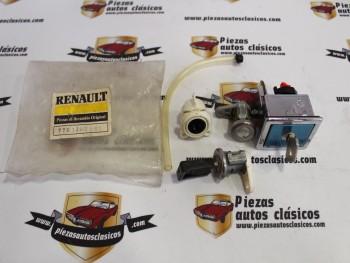 Juego bombillos de puerta , cerradura de maletero y de tapón depósito Renault 21 posterior al 90 ref origen 7701203157/252084