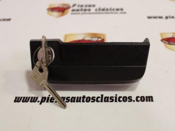 Manecilla puerta trasera con llave Seat 131 familiar 5P (antiguo stock) JF-52660000