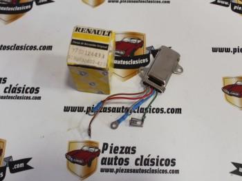 Regulador Alternador Femsa 33543-1 Renault 9, 11, 14, 18... Ref:7702124433/9190330602-425