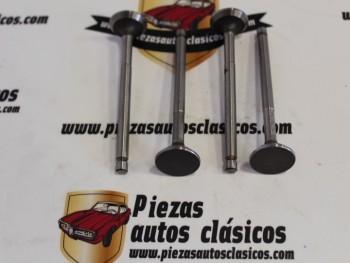 Juego Válvulas De Escape Fiat-Seat 850, (Motor 843cc) 25x7x92,3