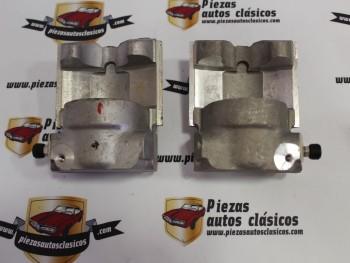 Pareja Pinzas De Freno Delanteras 45mm Seat 850 y Válidas Para Seat 124