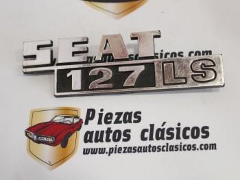 Anagrama trasero Seat 127 LS (modelo 2)