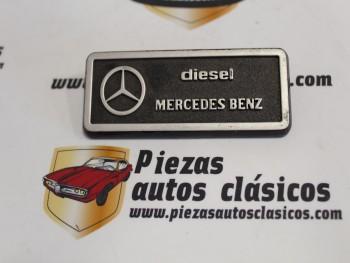 Anagrama  Mercedes Benz Diesel