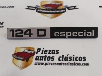 Anagrama Seat 124 D especial