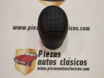 Pomo palanca de cambios 5 velocidades Renault clío, Kangoo, Dacia Logan... Ref: 8200208091