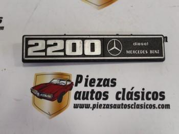 Anagrama  2200 Mercedes Benz Diesel