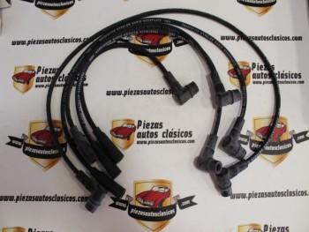 Juego Cables de Bujía Renault Super 5, 9, 11, 21 (Motor 1721cc) (Antiguo Stock)