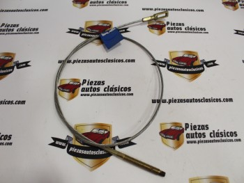 Cable Freno De Mano Delantero Mercedes-Benz MB 100, 130  (1080mm) sin funda Ref:06314200185