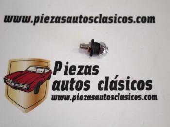 Surtidor limpiaparabrisas cromado con 2 orificios Renault 8, 10, Dauphine, Jeep Comando