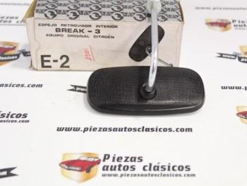 Espejo Retrovisor Interior Citroën Break-3 Gemo E-2 ( ovalado )