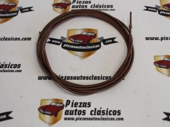 Cable Cuentakilómetros  Sin Funda Renault 8, 10, Dauphine, 4CV y Simca 1000 (2753mm)