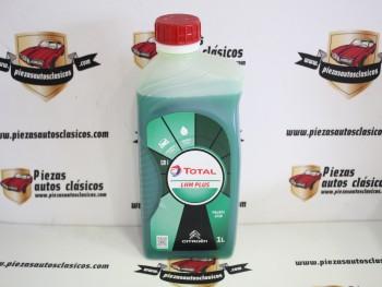 Aceite hidráulico LHM Plus Total Citroen 2CV, Dyane, Ami 8... (1 litro)