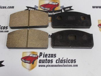 Juego Pastillas De Freno Seat 850 Coupe 1ª serie