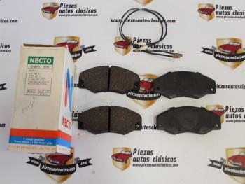 Juego Pastillas De Freno Delanteras Renault 21 (versiones con motor en posición longitudinal) Ref:7701202481
