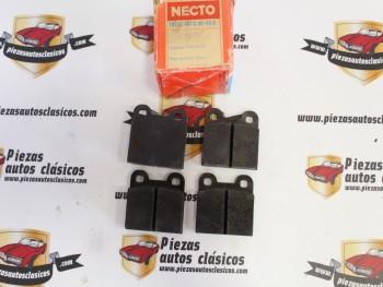 Juego Pastillas De Freno Delanteras FDT52/457-S-NS-413-S Alfa, Opel...