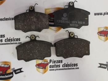 Juego Pastillas De Freno Delanteras Audi 80, 100 y Volvo 343, 345.. Ref:20574