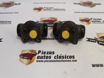 Pareja De Bombines De Freno Traseros Renault Super 5 y Clio I Ref:7701035473/7701035474