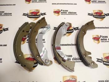 Juego de zapatas de freno Renault 8 y 10, 4,Gordini