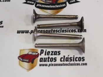 Juego Valvulas Escape Simca 1000 GL/GLE (Motor 315) (26x7x90,7)