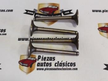 Juego Válvulas Admisión Simca 900, 1000 GL / GLS Rally y 1200 GL / GLE Motor 349 (34x8x106,8)