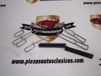 Kit accesorios pastillas de frenos Bendix Renault Clio I, Twingo I Ref: 7701204262