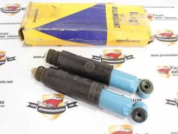 Par De Amortiguadores Delanteros Lip Simca 1000 (con leve grieta,ver fotos) Ref:127083