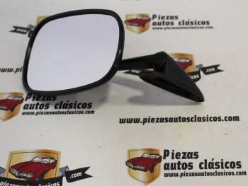 Espejo Puerta Negro Metálico Renault 4,5,6,7 y 12