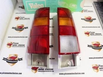 Pareja De Pilotos Traseros Renault Super 5 Cibie (con marcha atrás) 061261 / 061262 Con leve tara, ver fotos