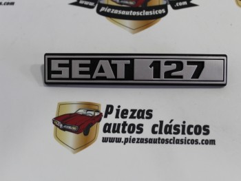Anagrama trasero Seat 127
