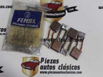 Escobillas Arranque Femsa Ebro, Avia, Land Rover, Perkins, Seat, Sava... Ref: 13784-80