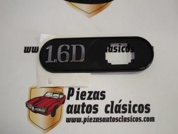 Anagrama lateral derecho 1.6 D Renault Clío Ref: 7700814777