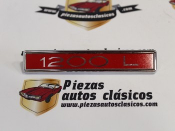 Anagrama Simca 1200 L 131x20mm.