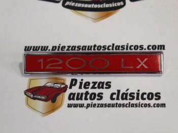 Anagrama Simca 1200 LX 131x20mm.