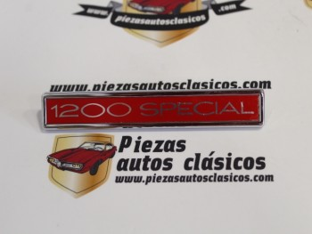 Anagrama Simca 1200 SPECIAL 131x20m.