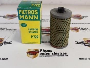 Filtro De Gasoil Avia 1500, 2500,... Pegaso 1095DR... Sava... Ref:P722