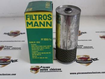 Filtro De Aceite Mercedes-Benz Sedán W123,... Ref:PF1055/1x