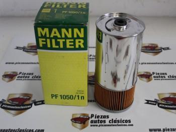 Filtro De Aceite Mercedes-Benz 190 (W201) , Sedán (W124),... Ref:PF1050/1n