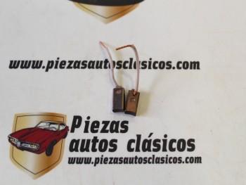 Juego escobillas de alternador Simca 1000 Citroen Dyane, Mehari 68-65 adaptable a equipo Bosch