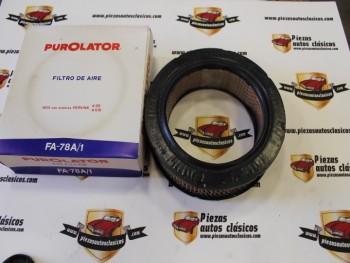 Filtro Aire Avia Con Motores Perkins 4,99 - 4,108 Purolator FA-78A/1