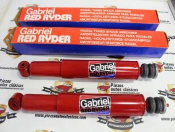 Par De Amortiguadores Traseros Gabriel 42154 Seat 124 y 131