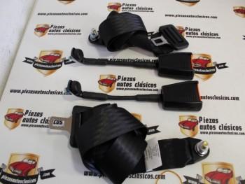 Juego 2 Cinturones 2 Puntos Fijos Citroën Mehari