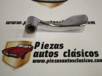 Maneta apertura interior derecha cromada Seat 124 Sport Ref: EC-52184000