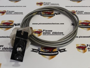 Cable Starter Renault 8 , 10 y Alpine A110 (Largo Total 3820mm)