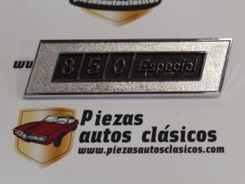 Anagrama Interior Salpicadero Seat 850 Especial