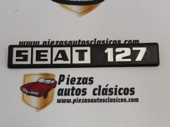 Anagrama Trasero Seat 127 (negro)